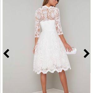 ChiChi London white wedding dress